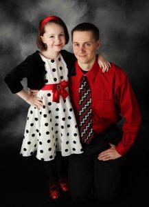 Ojec i córka - od niego zalezy kim ona zostanie