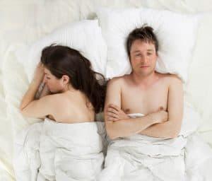 Brak seksu w związku jest tematem dla terapeuty.