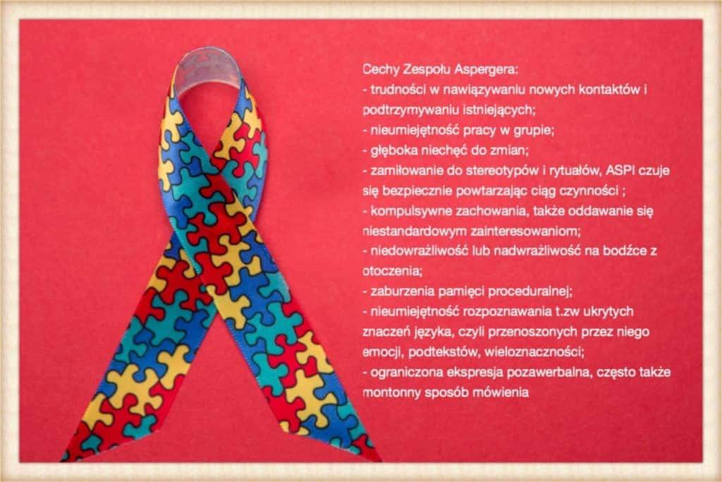 Cechy dorosłych z zespołem Aspergera