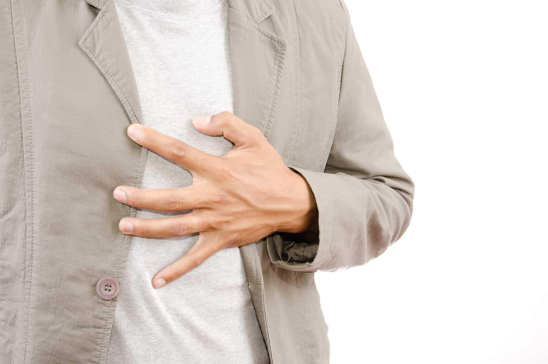 Ból w klatce piersiowej poprzedzony zaburzeniami erekcji