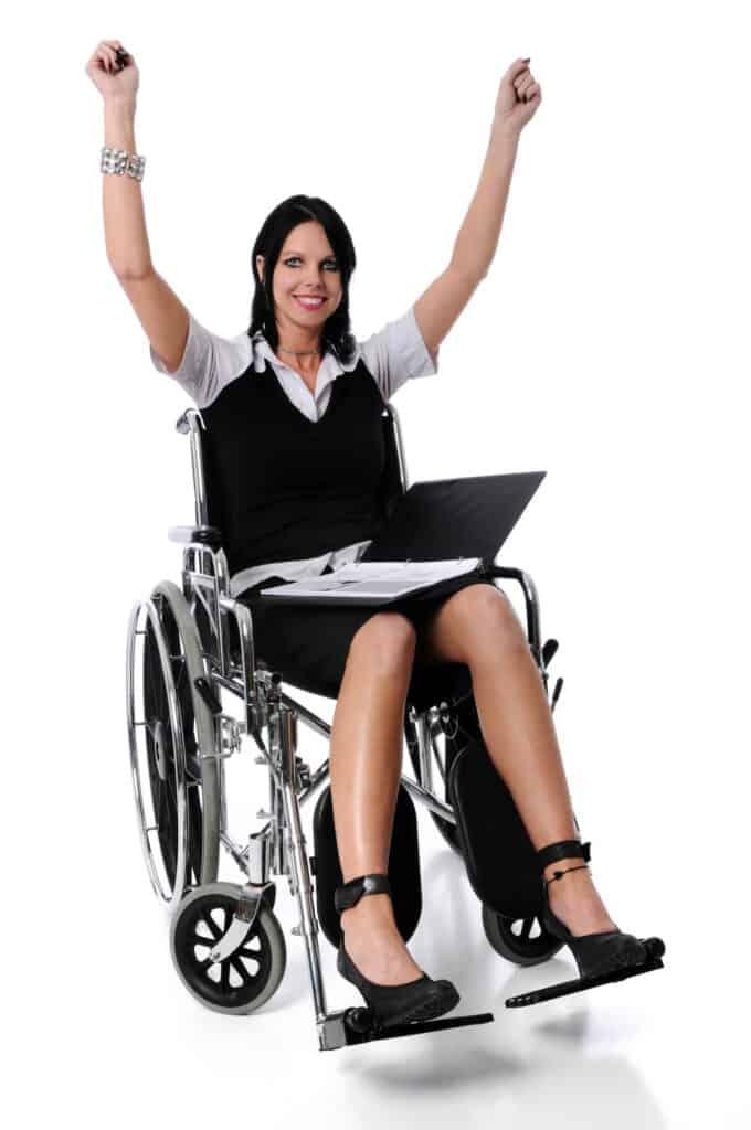 wózek inwalidzki nie musi ograniczac